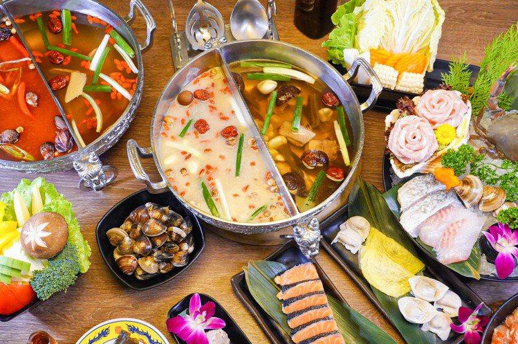 問鼎提供多種單點菜單、套餐方案。圖/問鼎提供