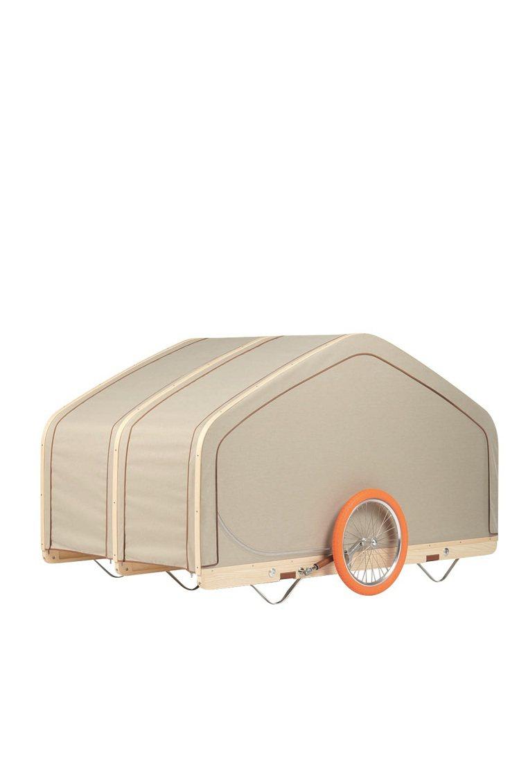 Love Cabin篷車,售價未訂。圖/愛馬仕提供