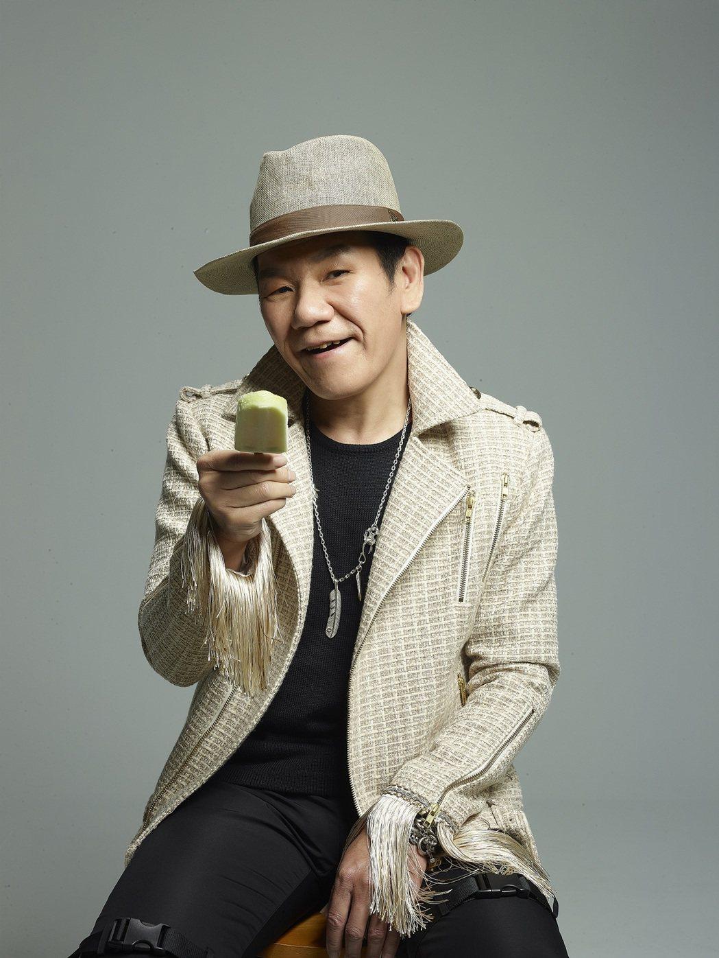 60歲的趙傳在邁入耳順之際唱起「老不休」。圖/旋風音樂提供