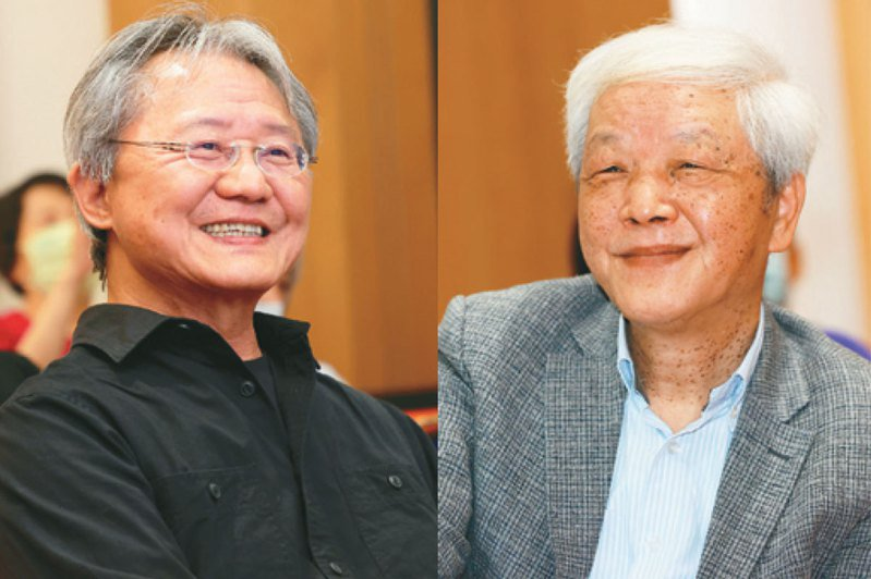 路寒袖(左)、向陽(右)。記者潘俊宏/攝影