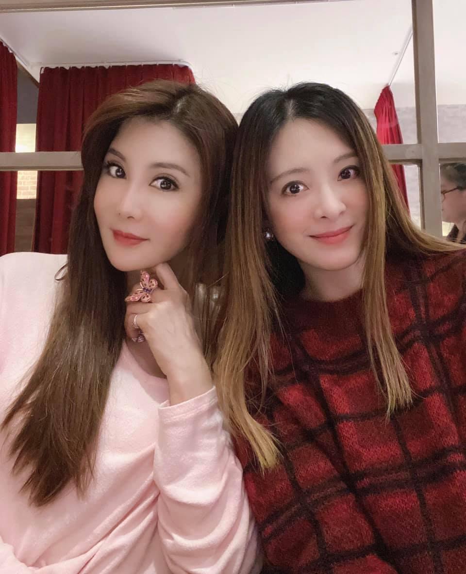 楊麗菁與劉真是好閨密。 圖/擷自楊麗菁臉書