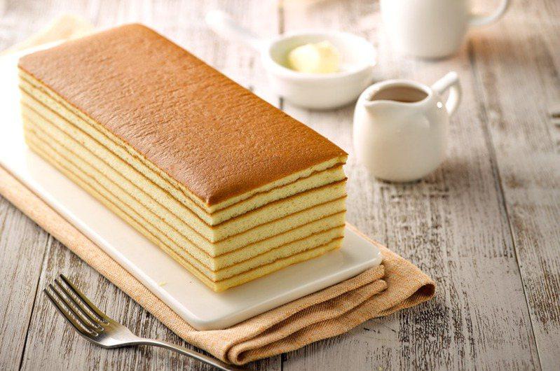 台灣蜂蜜千層蛋糕。(圖/阿默典藏蛋糕提供)