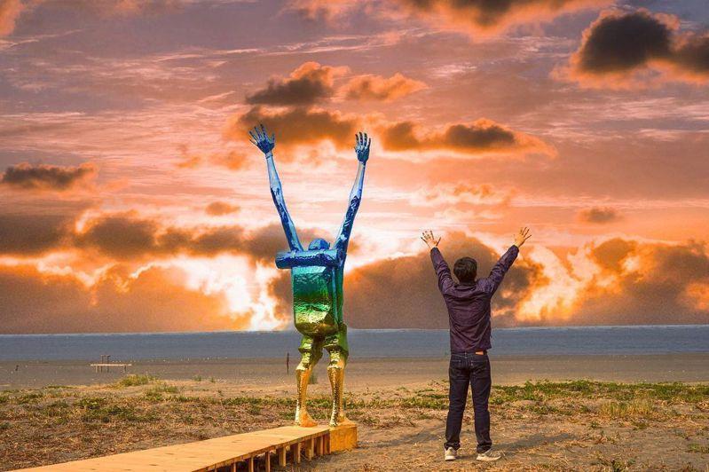 阿部乳坊《將變成樹與天空》。圖/IG@beckhamhong66授權