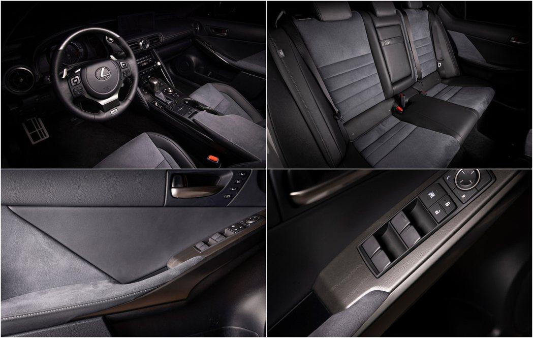 車艙氛圍彷彿回到了90年代日本車簡單戰鬥感。 圖/Lexus提供