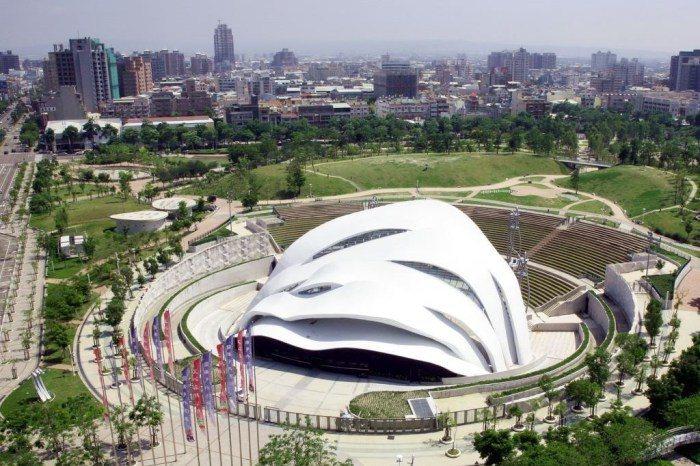 圓滿戶外劇場是全台最大的戶外環形劇場。 圖/臺中市政府觀光旅遊局
