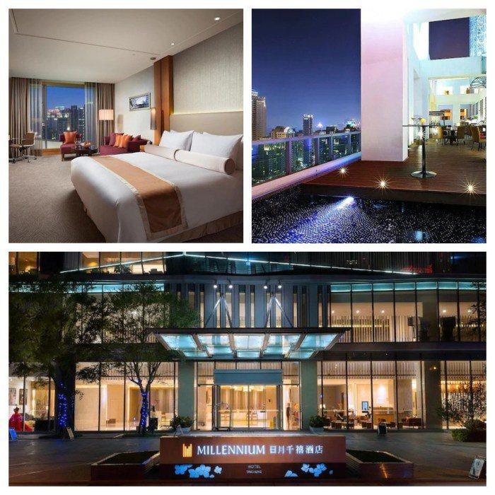 日月千禧酒店是中部首家國際頂級酒店,位在台中七期精華地段,交通很方便。 圖/ag...