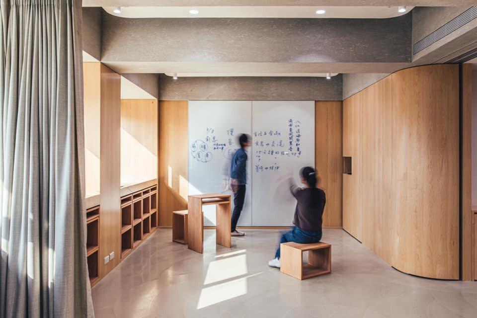運用模組家具,可讓空間作多重運用。圖/Plan b提供