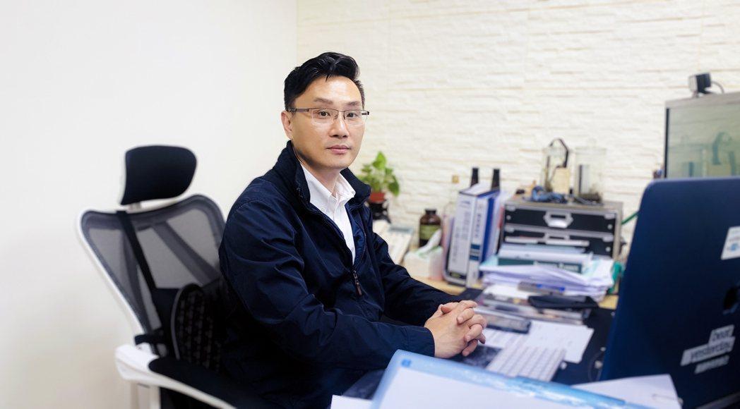 勀傑總經理劉伯緯將業務從單純的代理產品,提升為銷售整體解決方案。勀傑/提供