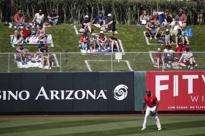 緯來體育接手MLB台灣轉播。 法新社