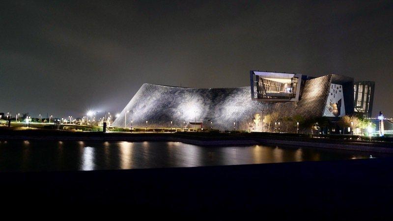 夜晚的南故宮「博物館」(一)