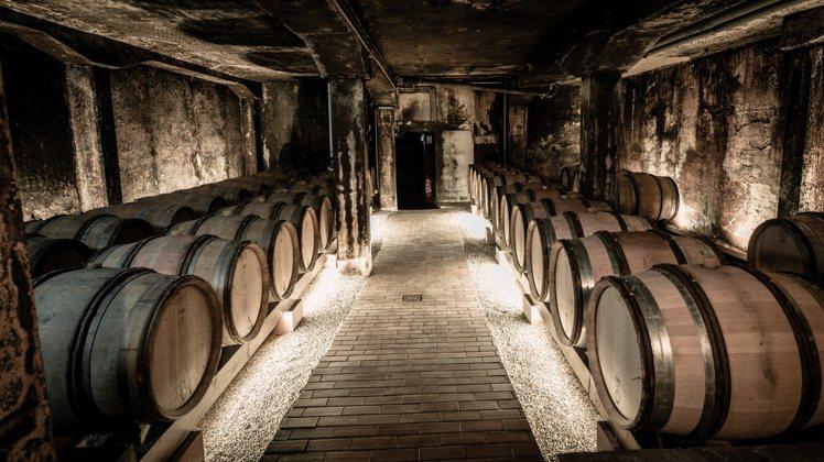Hugel家族的酒窖。圖/蘇富比提供