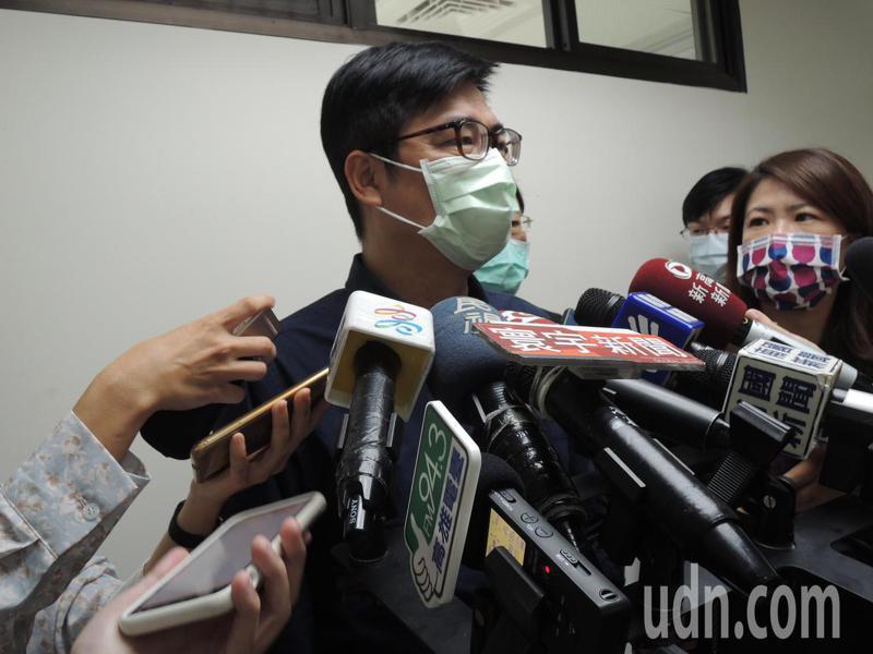 高雄市長陳其邁。聯合報系記者蔡孟妤/攝影