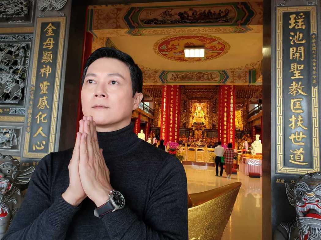 王燦戲中演反派,戲外做公益行善。圖/民視提供