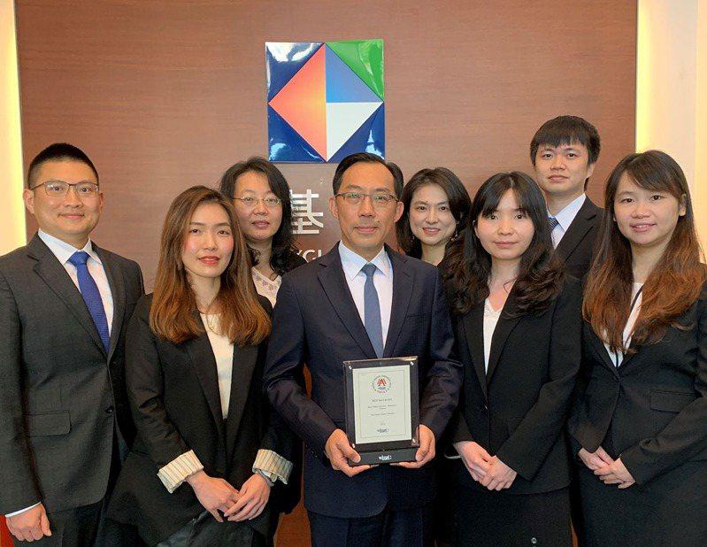 凱基證券再奪「台灣最佳併購財務顧問」獎,專業團隊備受肯定。凱基證券/提供