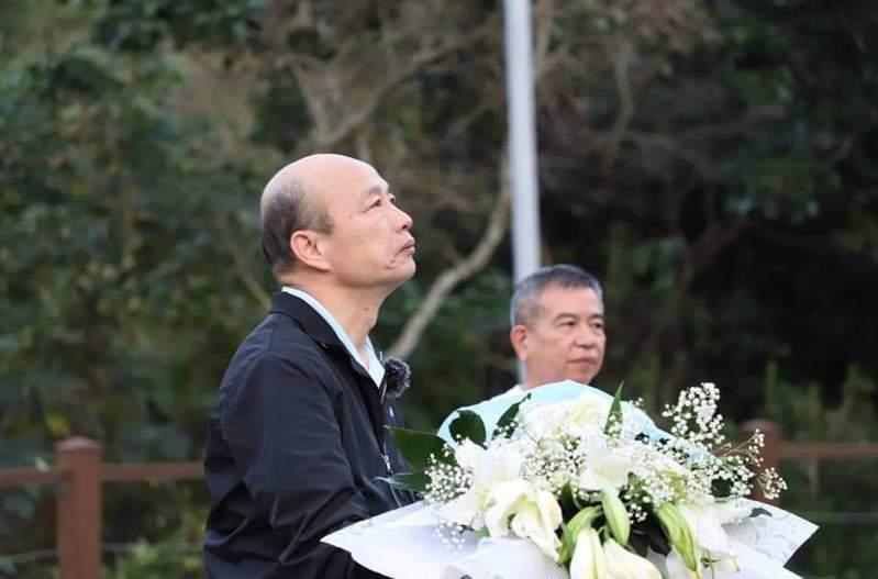 高雄市前市長韓國瑜拍攝的「韓先生來敲門」已播出了5集,他感謝每次的觀賞和留言。圖/取自韓國瑜臉書