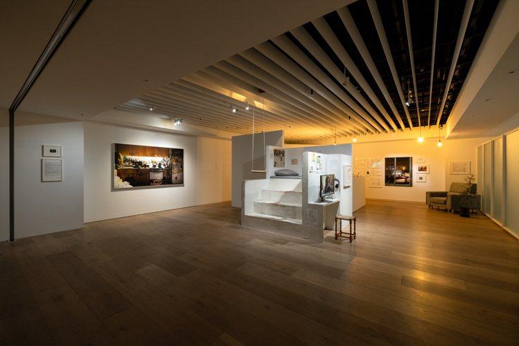 藝術家何孟娟作品《魏斯貝絲計畫》。圖/忠泰美術館提供
