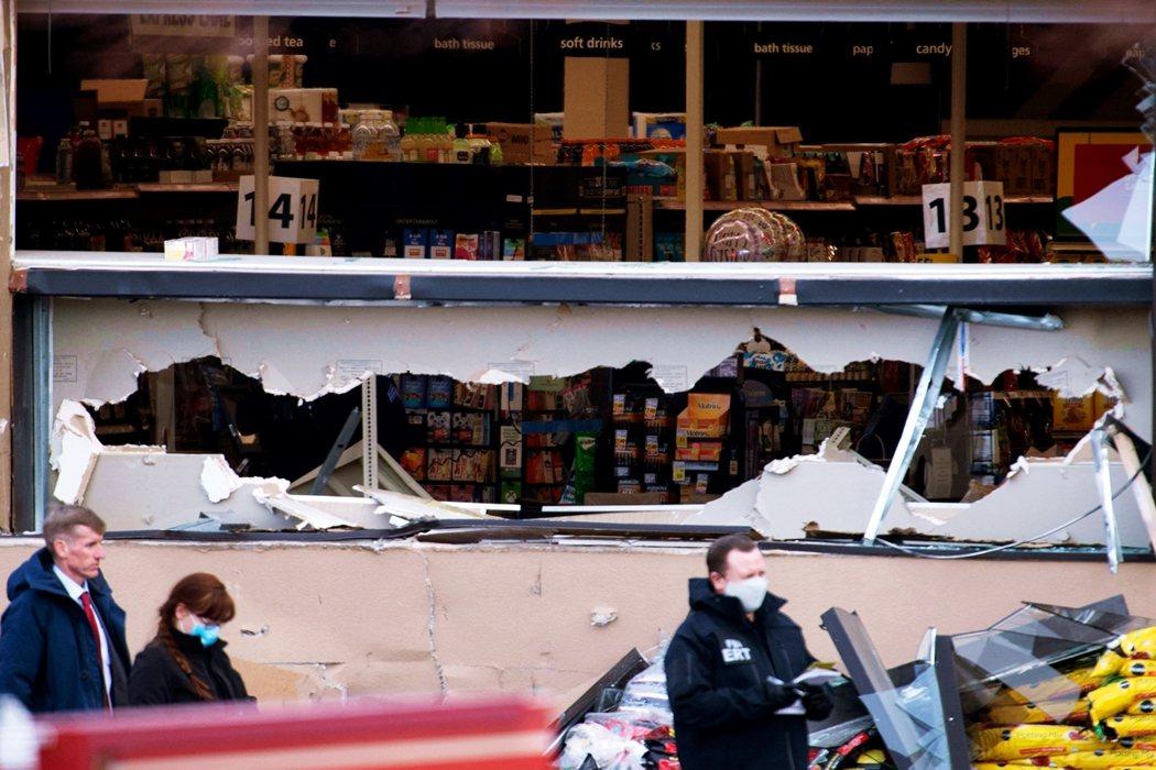 美國科羅拉多州博爾德(Boulder)一家名為King Soopers的超市在3...