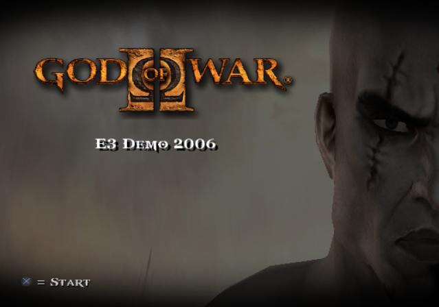 戰神,2006 E3 Demo
