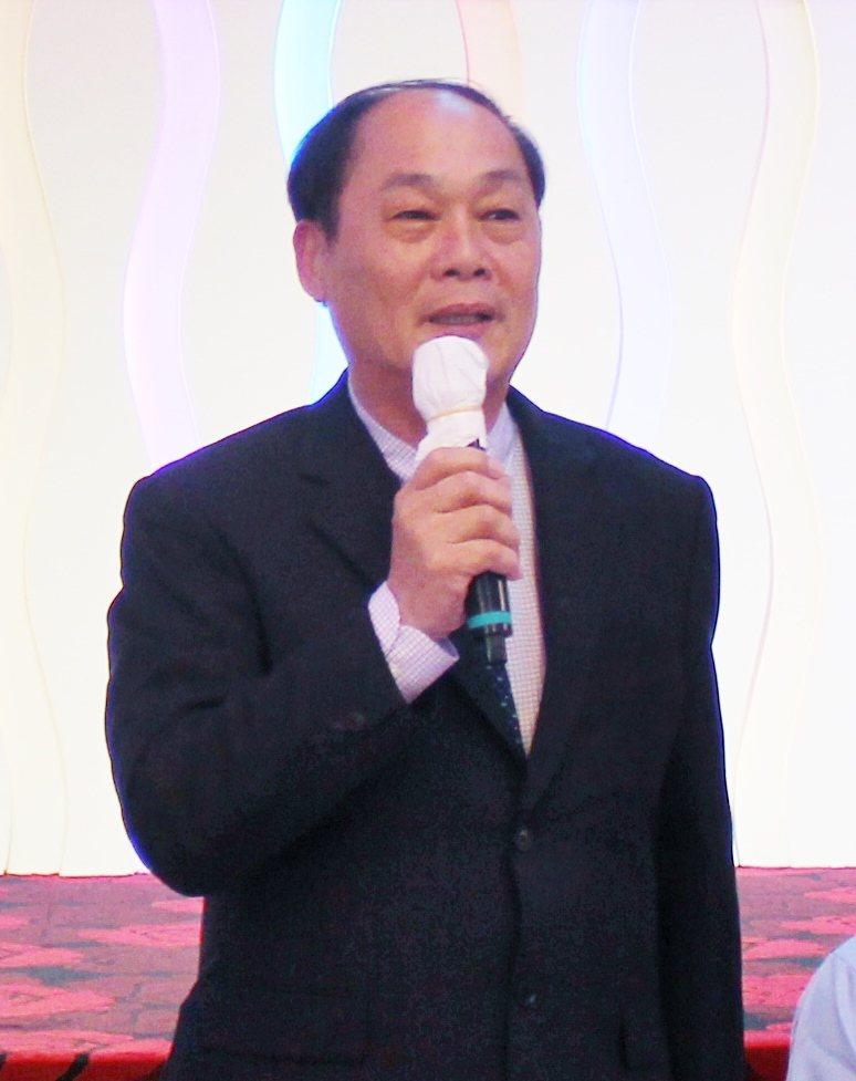 中華液壓氣動協會理事長胡伯服。 戴辰/攝影