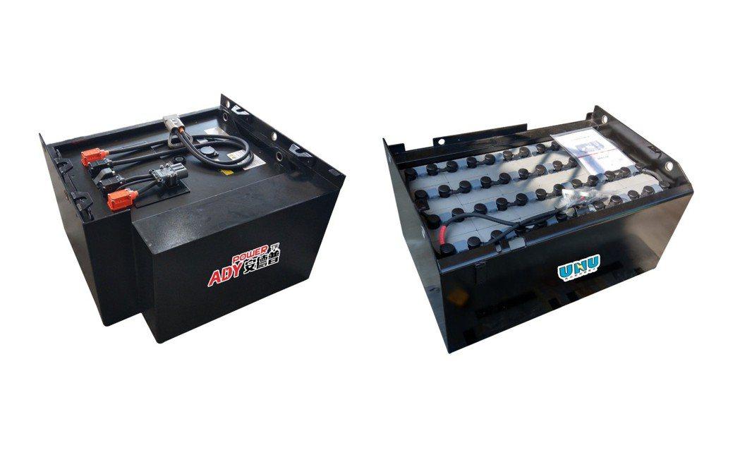 日日興推出「鋰電池免費試用」,並且鉛酸電池或鋰電池一應俱全。業者/提供