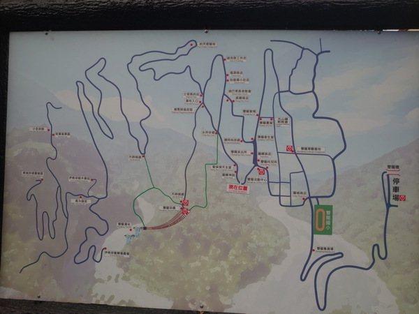 雙龍部落地圖