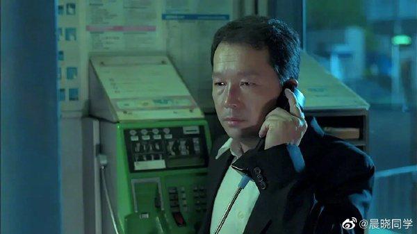 廖啟智曾演過「無間道II」、「證人」等經典警匪電影。圖/摘自微博