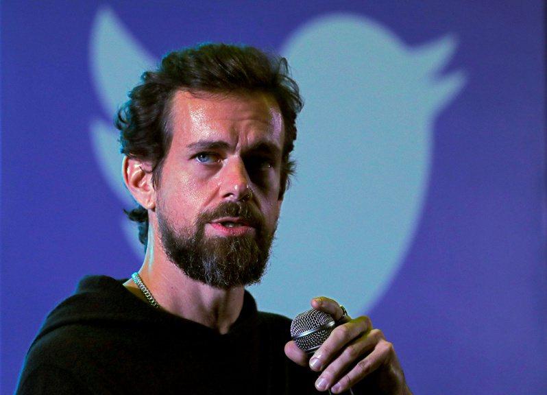 推特執行長多爾西。(路透)