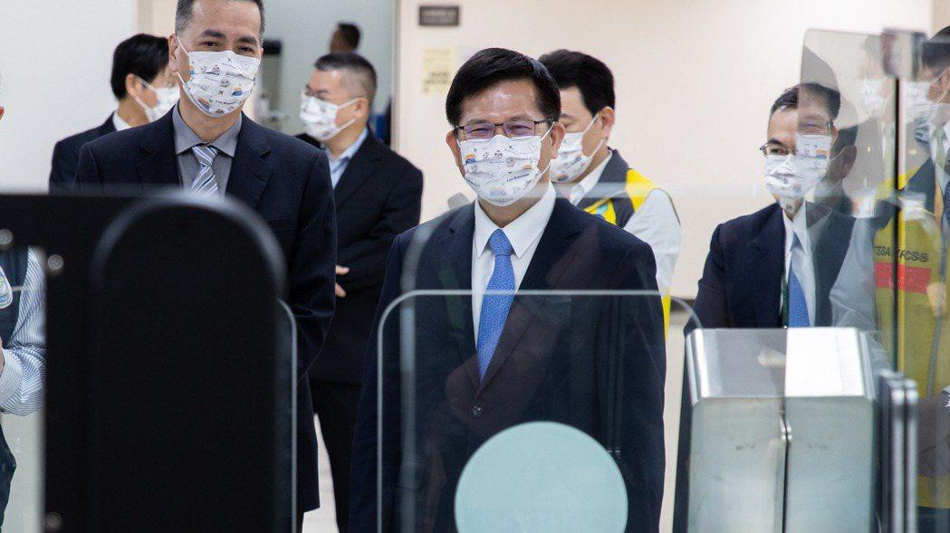 交通部長林佳龍。記者季相儒/攝影