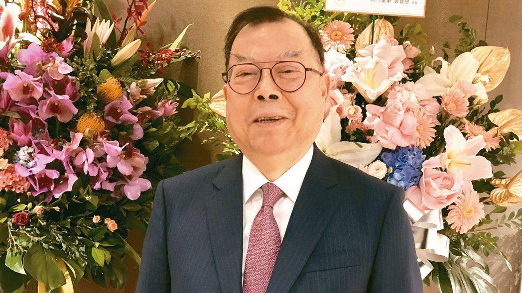 力積電董事長黃崇仁。報系資料照