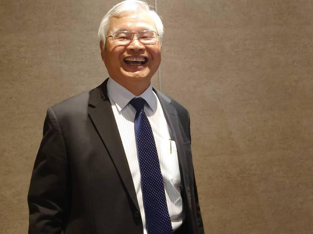 和潤企業董事長田天明對全年營收成長率有信心年增2成。記者黃淑惠/攝