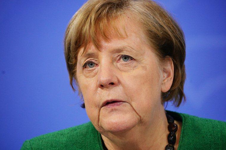 德國總理梅克爾宣布,再延長封鎖措施至4月中。美聯社