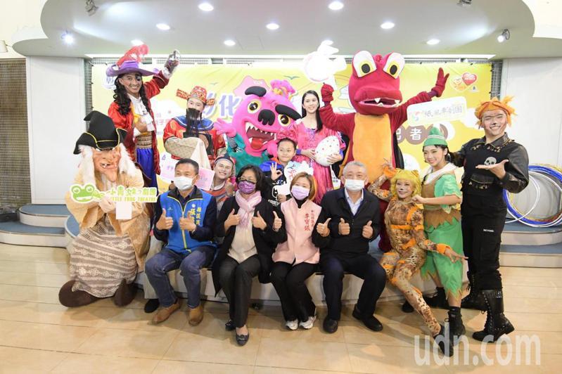 彰化縣府舉辦兒童節系列活動,邀請六大兒童劇團舉辦八場次表演。記者林敬家/攝影