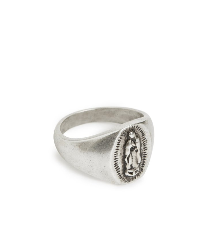 AllSaints Saint造型戒指3,300元。圖/AllSaints提供