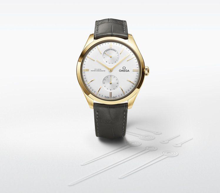 新款碟飛系列腕表捨棄了日期視窗,但以更簡約、同時兼具復古風格的設計,具備小秒針與...