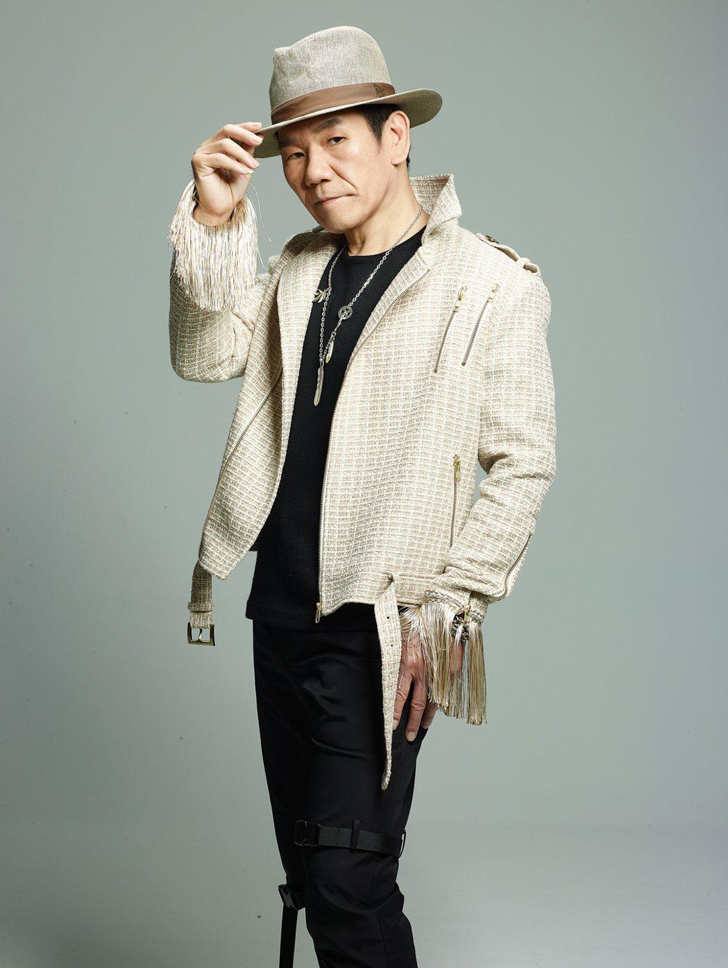 趙傳宣布於7月31日舉辦「人生大夢」演唱會。圖/開麗娛樂提供