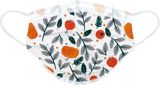POYA寶雅開賣「春天花會開」醫用口罩,圖為「盛夏果實」款,一盒25入售價288...