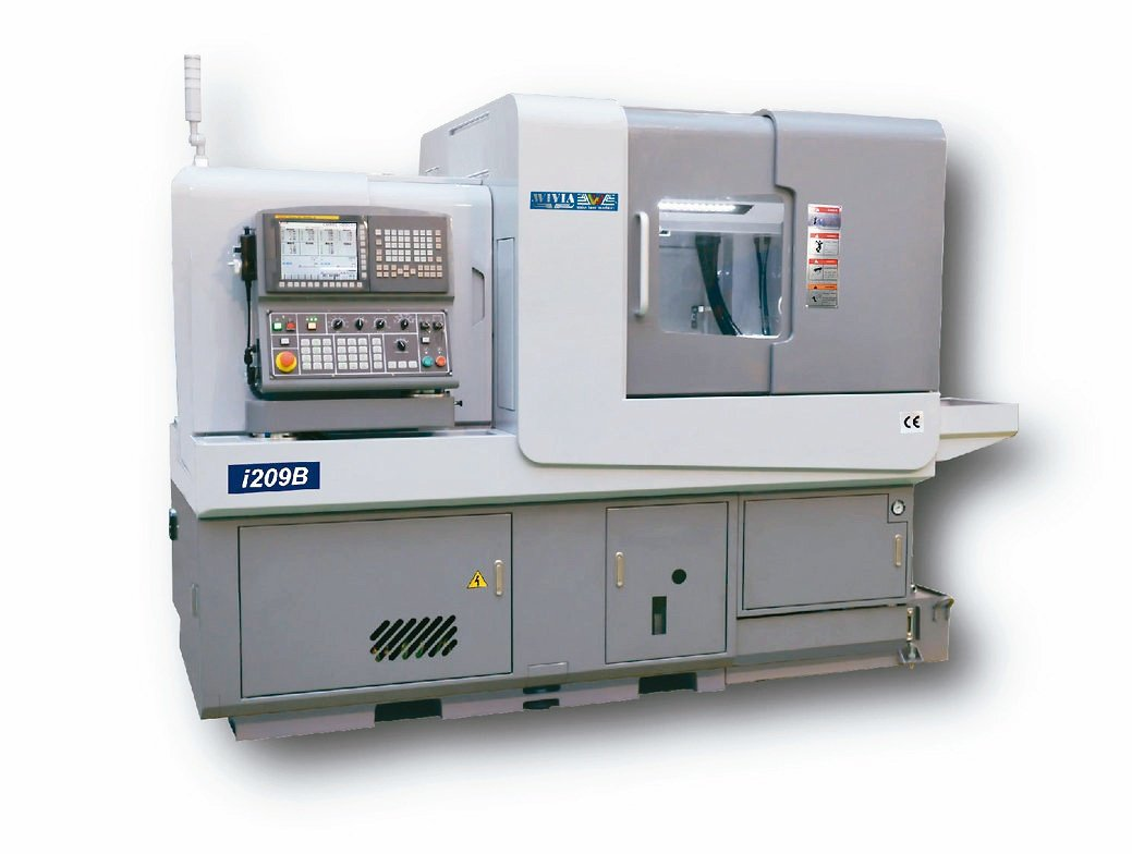 威亞機械i系列走心式電腦車床。威亞機械/提供