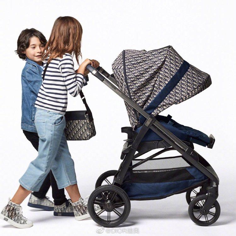 上海日前舉辦VILLA DIOR活動,同步發表首款Dior Oblique嬰兒推...