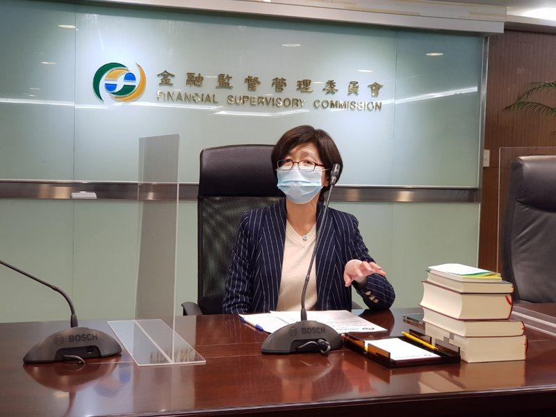 金管會銀行局局長莊琇媛。記者戴瑞瑤/攝影