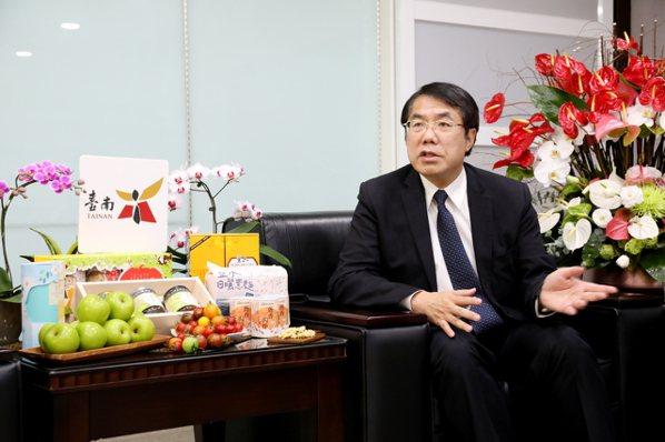 台南市長黃偉哲。照片/台南市府提供