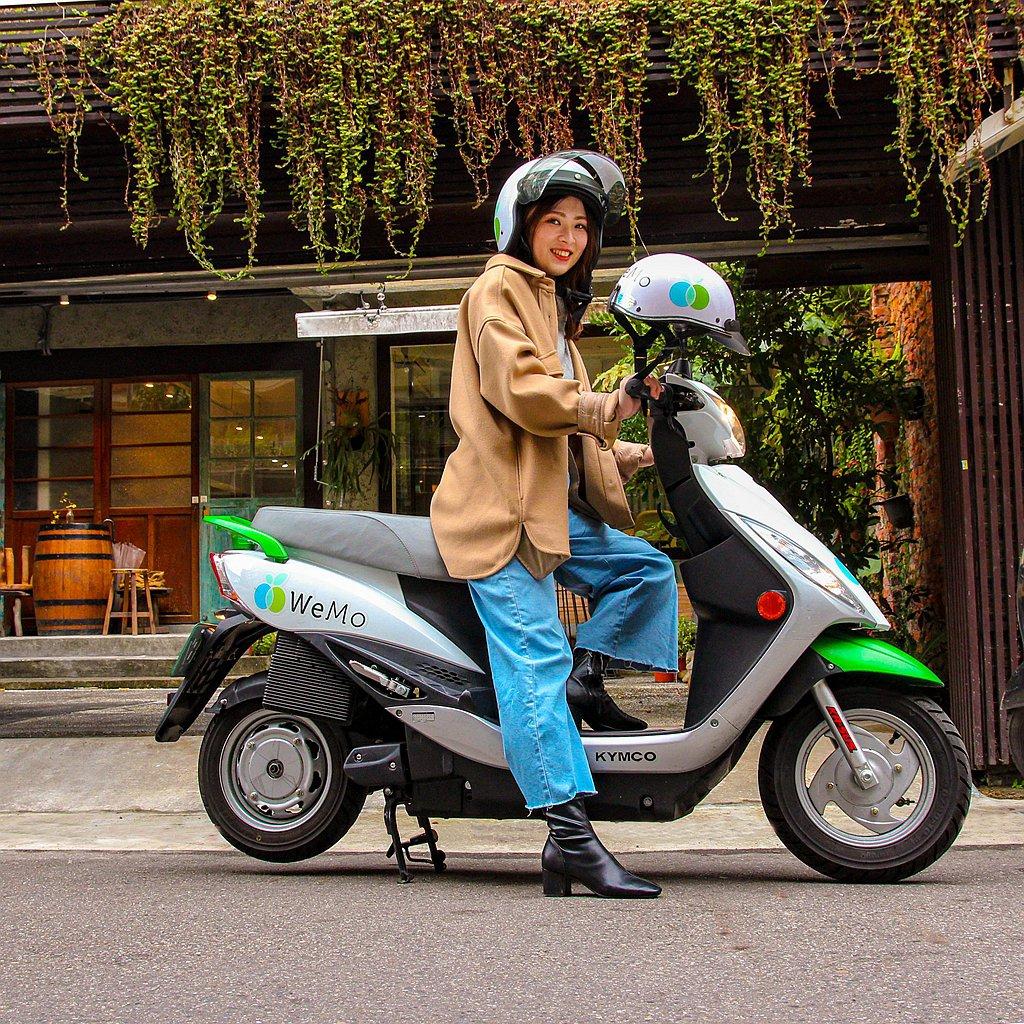 WeMo Scooter持續推動共享綠騎服務,推出新用戶0元活動,即日起新用戶首...