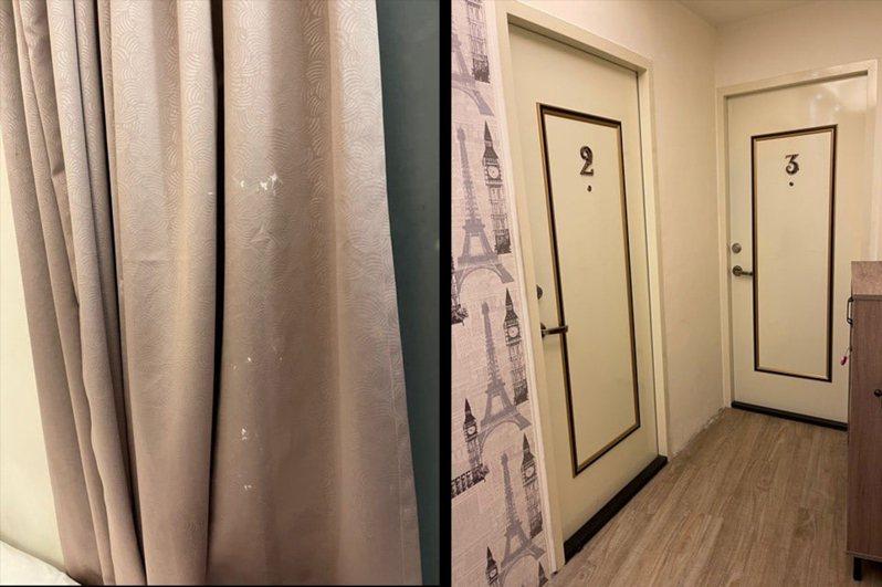 一名女子在連假期間入住羅東民宿,房內霉味超重令她嚇得付全額逃離。擷自爆料公社