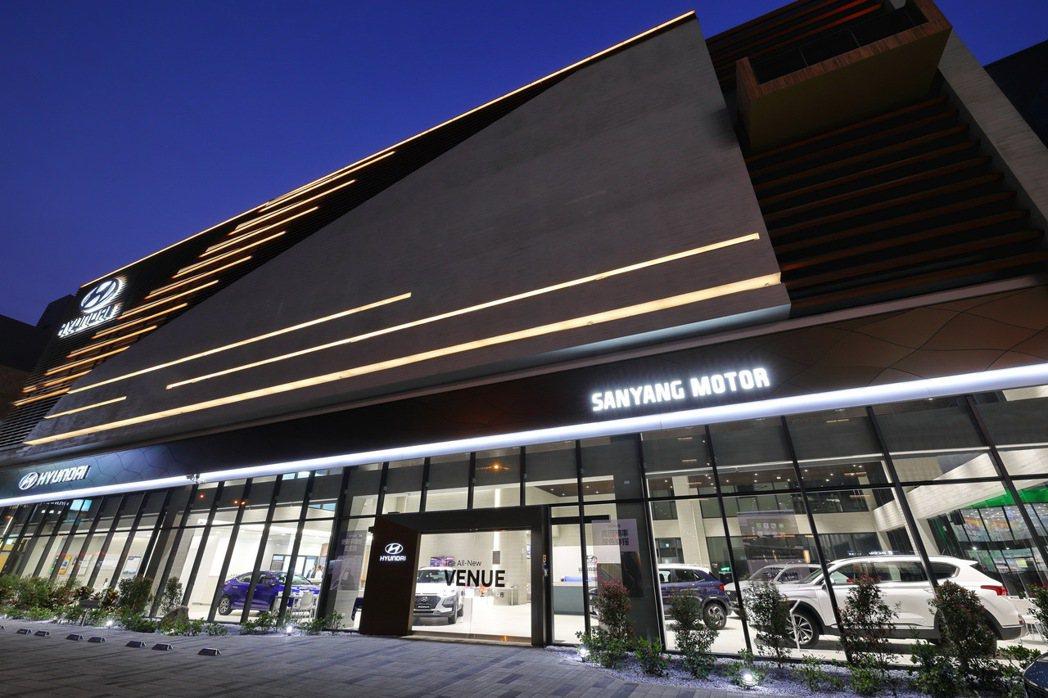 新竹地區竹北GDSI展示中心外觀。 圖/南陽實業提供