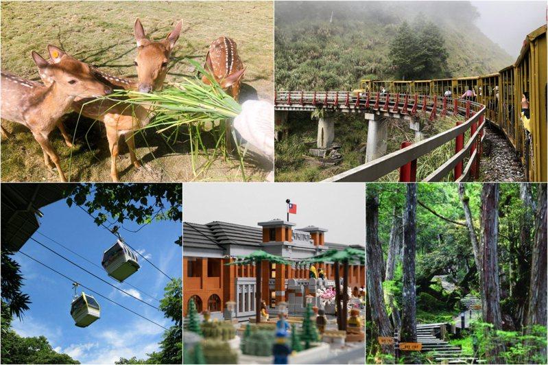 圖/星寶蔥体驗農場臉書專頁、台灣山林悠遊網、台北捷運公司提供、新竹市政府提供、羅東林管處提供