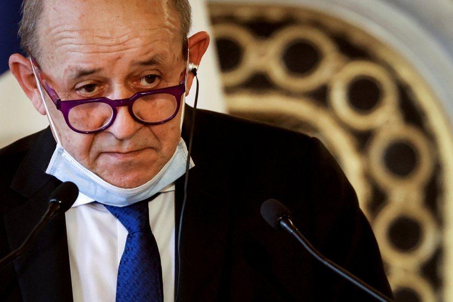 法國外交部長勒德里安指出盧沙野的行徑「不可接受」。圖為勒德里安。 圖/路透社