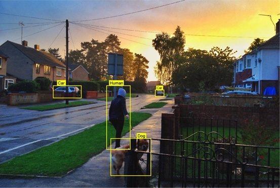 芯鼎科技智慧家用安防攝影機AI過濾,準確識別與減少誤觸發。 芯鼎科技/提供