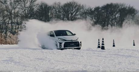 影/Toyota GR Yaris在雪地如何耍帥?日本大師甩給你看!