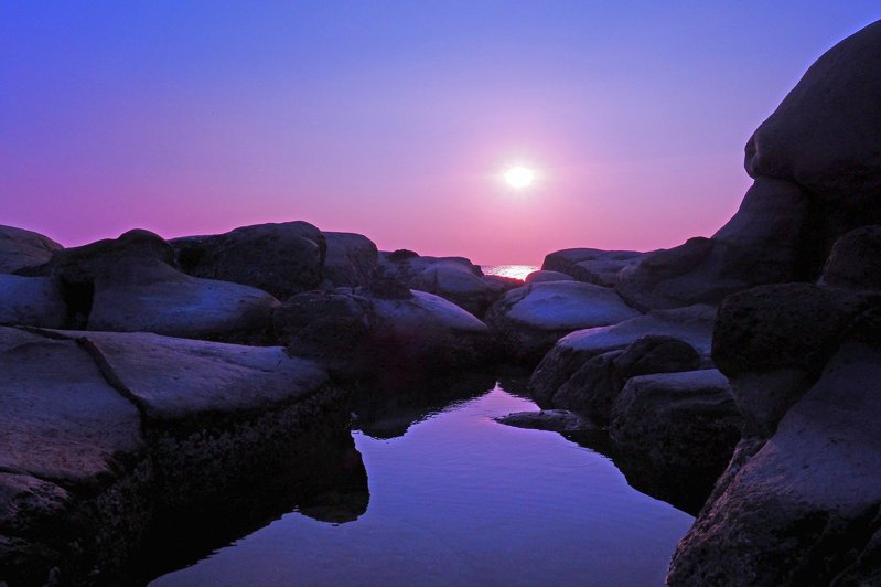 ▲基隆和平島公園日出。(圖/Pixabay)