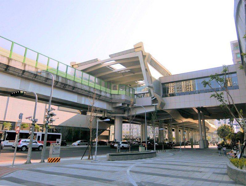 台中捷運線市政府站,新成屋與中古屋價差懸殊。圖/台灣房屋集團趨勢中心提供