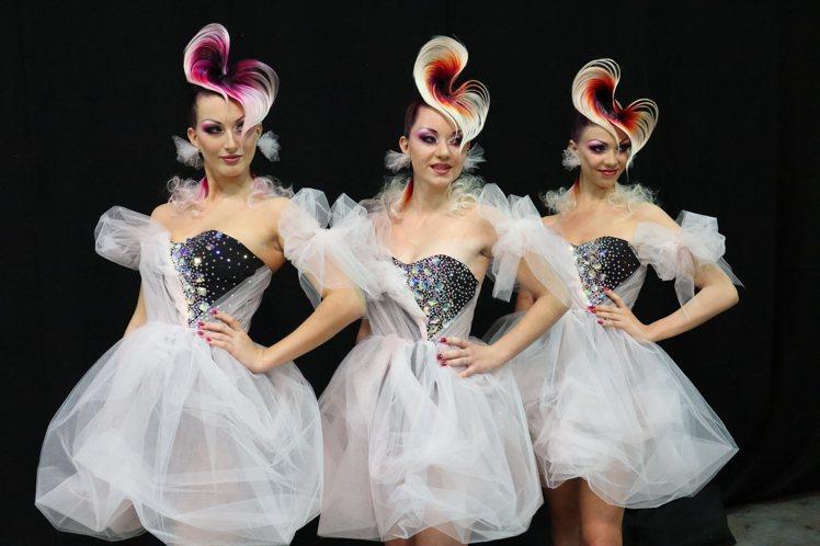 美容展與THBA合作打造「2021 春魅髮妝時尚周」。圖/主辦單位提供